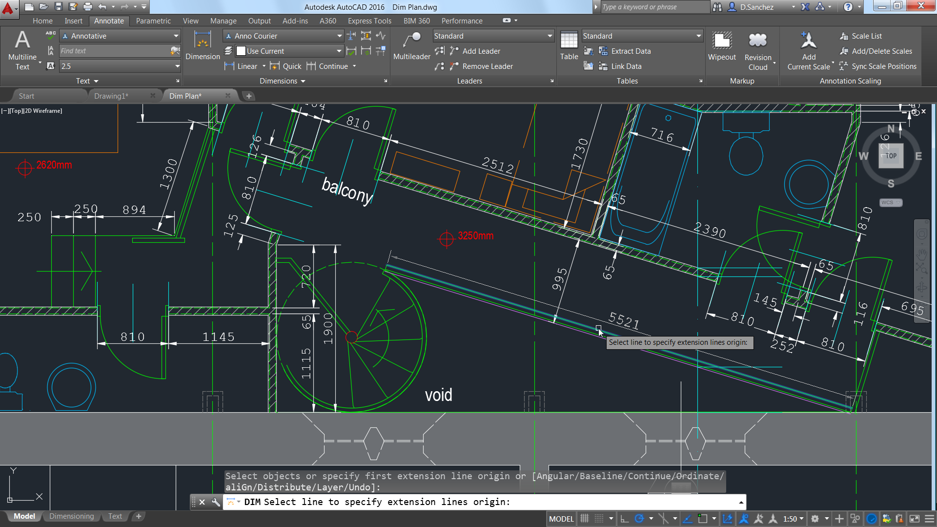 improved smart dimensioning automatically creates appropriate measurements based on the type of objects selected making